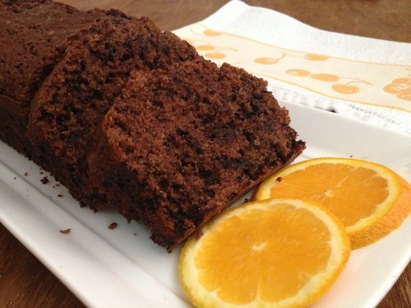 Kέικ σοκολάτας με πορτοκάλι!