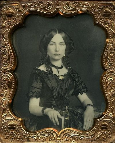 Victorian beauty holding a book. Uncredited. #victorian #photography
