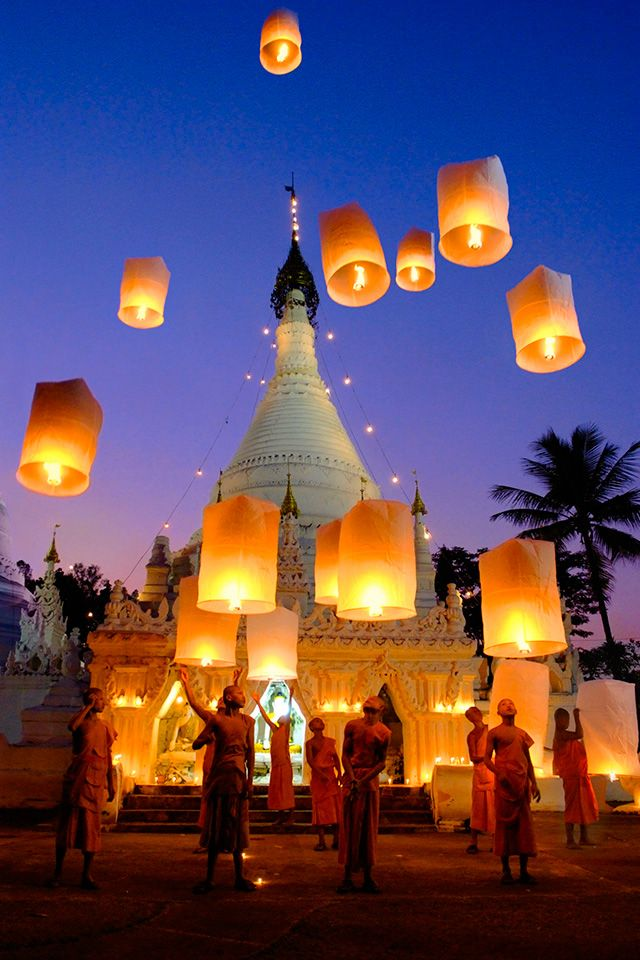 Lantern Festival, Thailand would love to see this