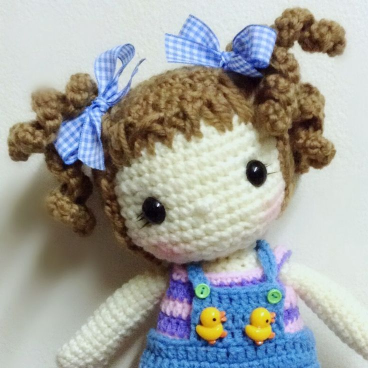 Amigurumi Doll How To : Images about amigurumi doll hair others on