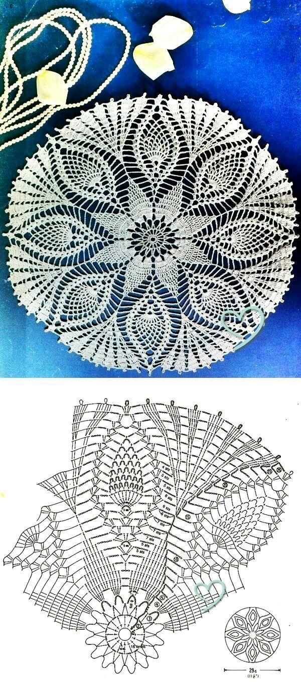 24 Best Crosia Design Images On Pinterest Crochet