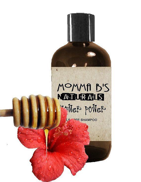 #Naturalshampoo Hibiscus Honey #SLSfree #parabenfree
