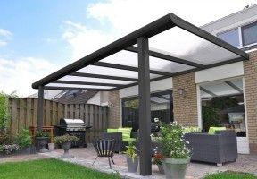Pergola-ouverte-toit- polycarbonate-alvéolaire