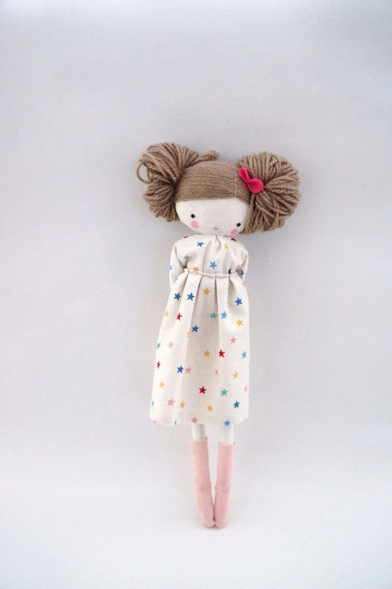 Maria handmade rag doll cloth doll with by lassandaliasdeana                                                                                                                                                                                 More