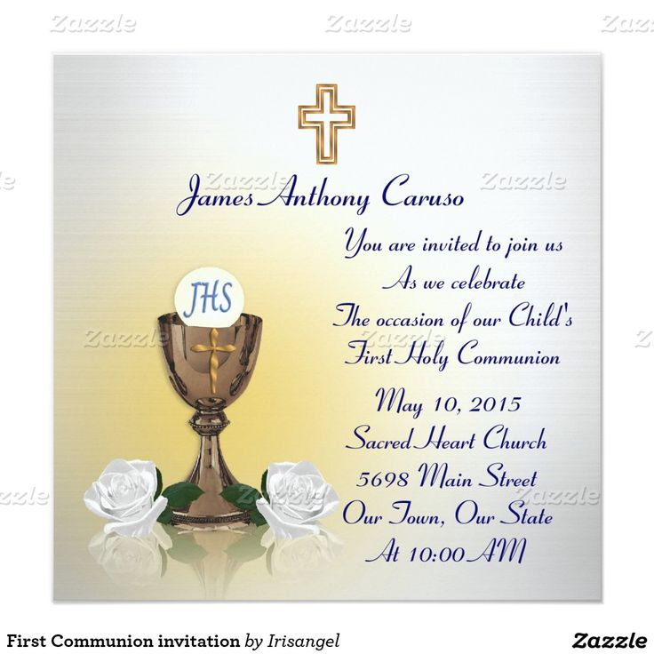 71 best first communion invitations and thank you cards images on first communion invitation stopboris Gallery