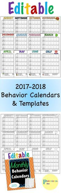 Best 25+ Editable calendar 2017 ideas on Pinterest Download - classroom calendar template