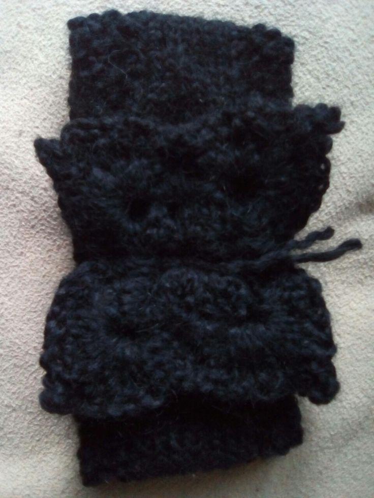 Bandeau au tricot 4 point de riz 7 Jersey 4 point de riz  Papillon sur youtube ''papillon au crochet facile''