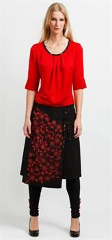 Say it with Flowers Skirt in Black   Winter 2010