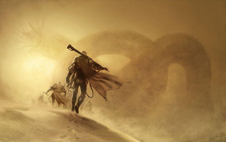 Dune book cover - Henrik Sahlström