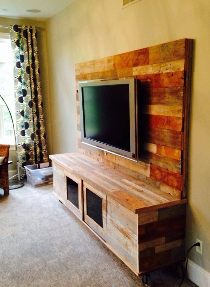 1000 Ideas About Reclaimed Wood Tv Stand On Pinterest