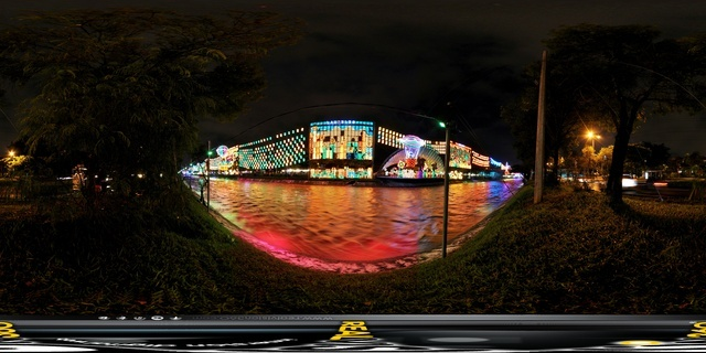 Christmas 360 city