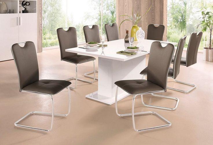 Tecnos Esstisch mit Auszugfunktion ab 349,99€. Mit Auszugsfunktion, 2,5 cm starke Tischplatte, FSC®-zertifizierter Holzwerkstoff, In verschiedenen Größen bei OTTO