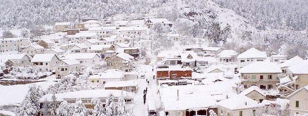 Météo: Jusqu'à 100 cm de neige à Ain Draham | Directinfo