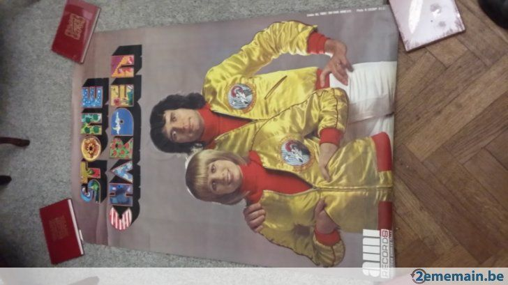 Grande Ancienne Affiche 1973 Stone et Charden 120 x 80 cm - A vendre