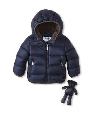 30% OFF Il Gufo Kid's Hooded Puffer Jacket (Sapphire)