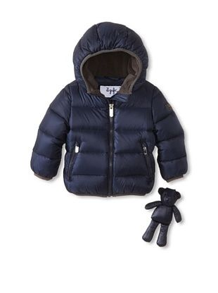 30% OFF Il Gufo Kid's Hooded Puffer Jacket (Sapphire)