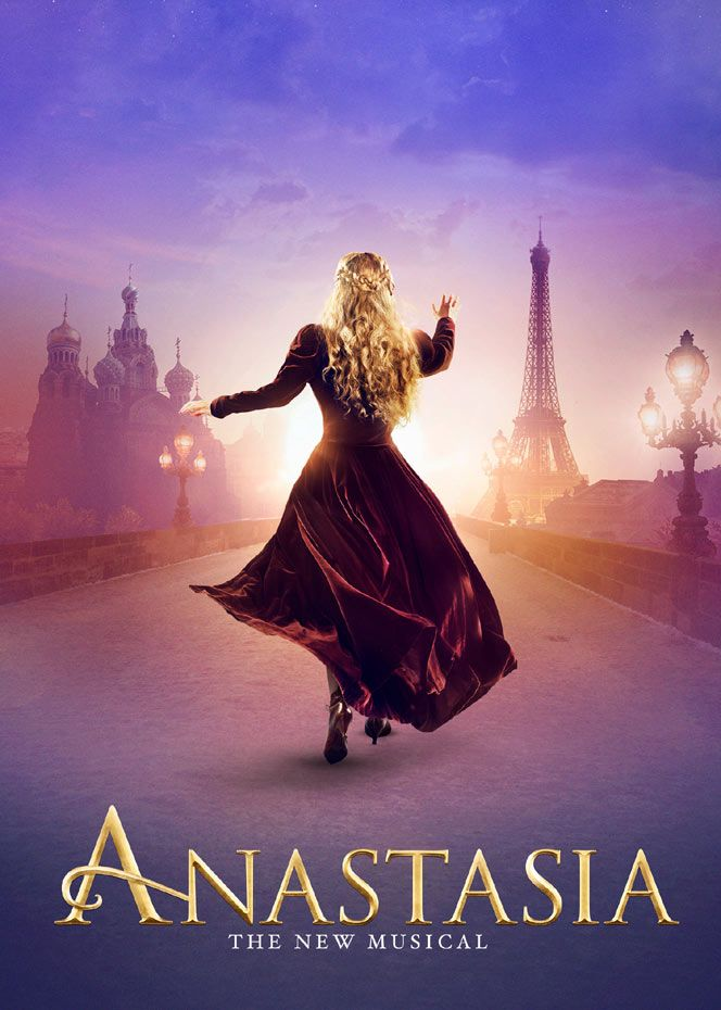 Inspired by the beloved films, the romantic and adventure-filled new musical Anastasia comes to Broadway. #Broadway #Musicals