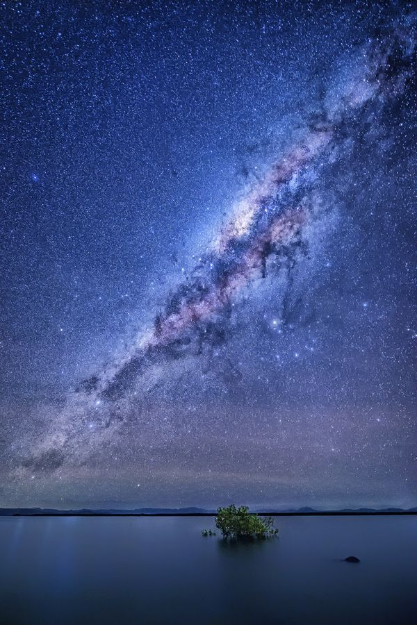The Milky Way photographed from Airlie Beach, AUS