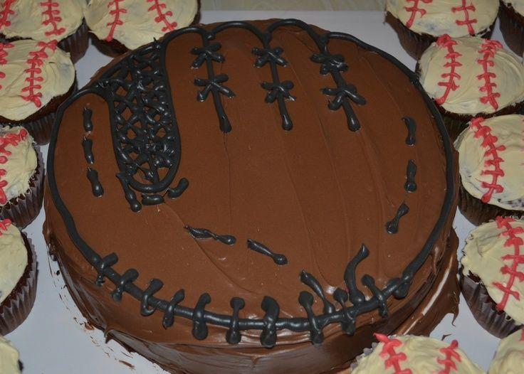 15+ best ideas about Baseball Glove Cake on Pinterest | Baseball ...