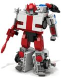 Lego Transformers Red Alert Instructions by BWTMT Brickworks