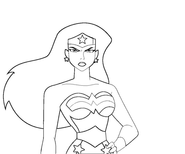 Download Coloring Pages Wonder Woman Pages In Pages: 253 Best Images About Coloring Pages