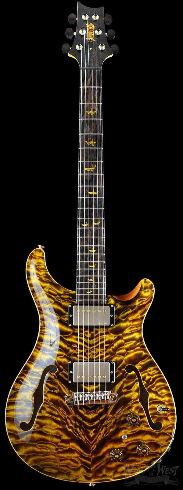 PRS Paul Reed Smith Private Stock #5900 Hollowbody II Dirty Blonde