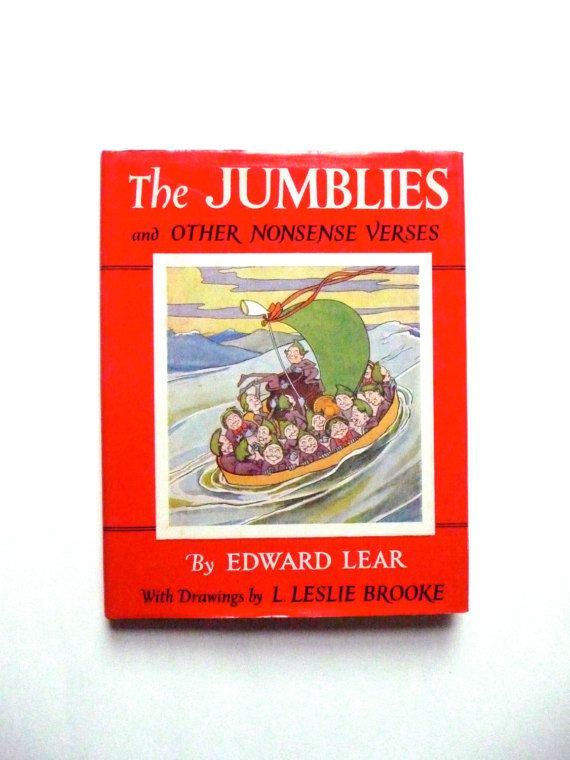The Jumblies and Other Nonsense Verse by Edward Lear Vintage
