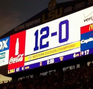 LSU-Arkansas Game