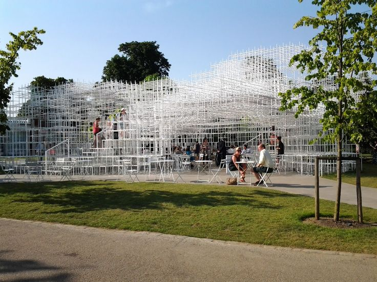 #Sou #Fujimoto @ The #Serpentine #Gallery