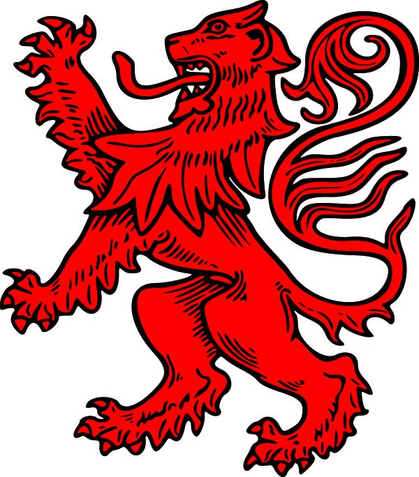 "Heritage Of Scotland ""In the days when flags and banners were important to identify opposing elements in battle, King William I ""the Lion"" who lived from 1143 to 1214, adopted a heraldic device showing a rampant lion, the king of beasts, rearing up with three paws stretched out. This became the royal coat of arms in Scotland. The lion was also incorporated into the Great Seal of Scotland which was place... HeritageofScotland.com and on facebook."