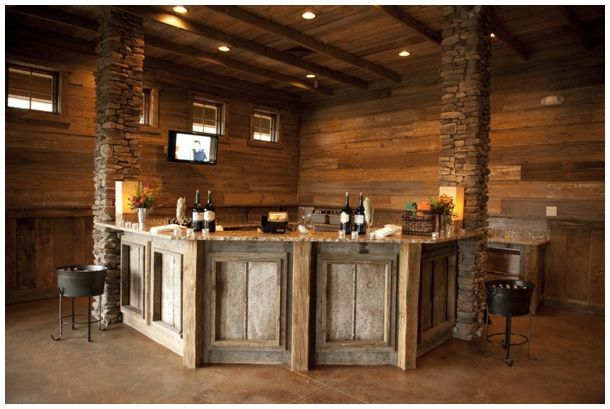 Rustic bar google search irish pub basement pinterest the shape bar and search - Rustic basement bar designs ...