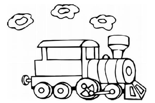 Belajar Mewarnai Gambar Kereta Api Anak Tk Di 2020 Warna