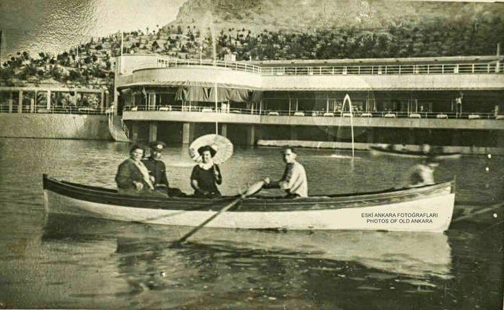 1936 lar cubuk göl gazinosu..malesef buda yıkılanlar arasında...