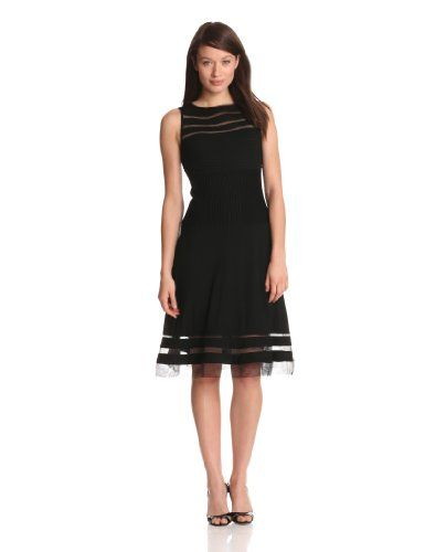 Adrianna papell evening dress black tiered
