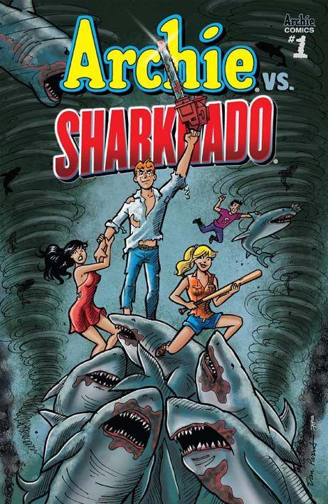 Cover di Dan Parent #Archie #Sharknado #TheAsylum #DanParent