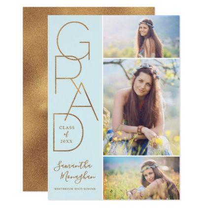 Proud Grad | Graduation Announcement | Light - graduation gifts giftideas idea party celebration