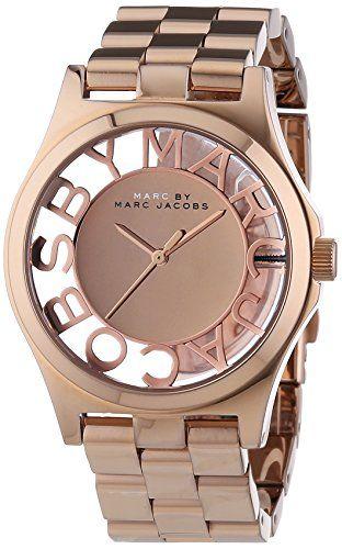 Marc Jacobs Damen-Armbanduhr Analog Quarz Edelstahl MBM3207