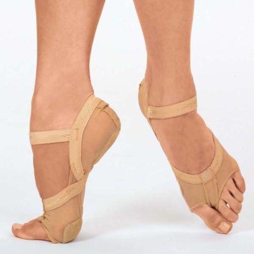 Capezio-h07fb-Cuerpo-Completo-Footundeez-Pie-Tanga-Lirica-Danza-Contemporanea-Zapatos