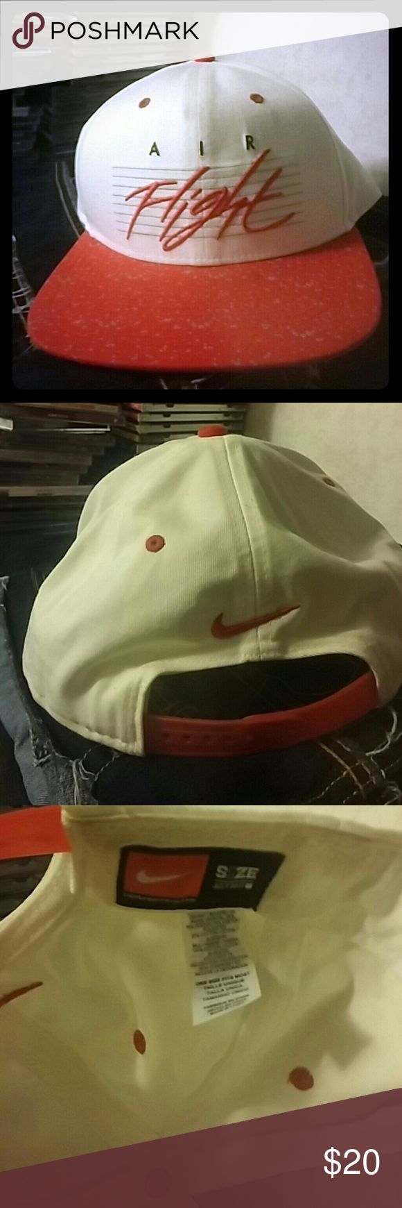 Nike Air Flight One Size Fits Cap One size fits most. Has a mothy smell to it. Nike Accessories Hats