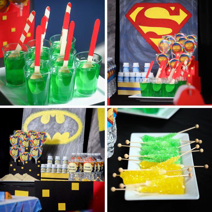 BATMAN VS SUPERMAN Food and Snacks