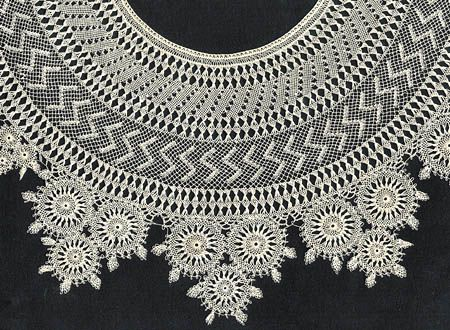 Armenian Lace Collar