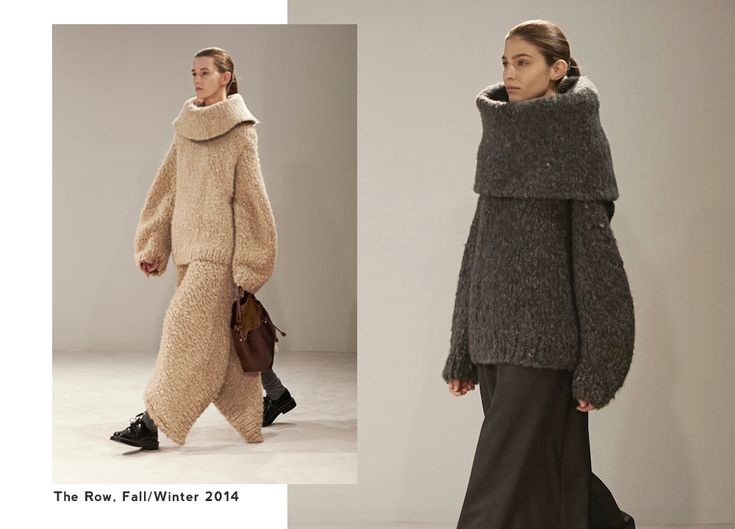 Fall 2014 Style Trends: Oversized Sweaters and Sensible Shoes | http://sheepandstitch.com/style-trends-oversized-sweaters-sensible-shoes/