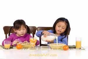 Manfaat sarapan pagi bagi kesehatan anak