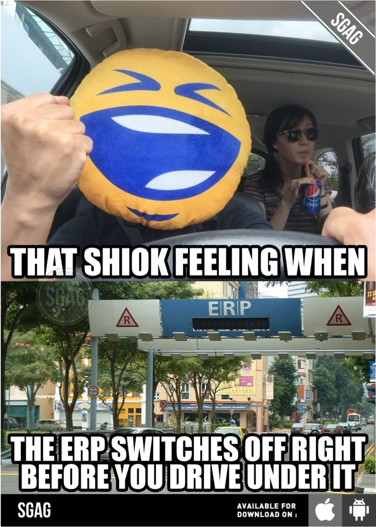 My new limited edition #PepsiMoji cushion totally shows how drivers in Singapore feel when this happens!   #SAYITWITHPEPSI