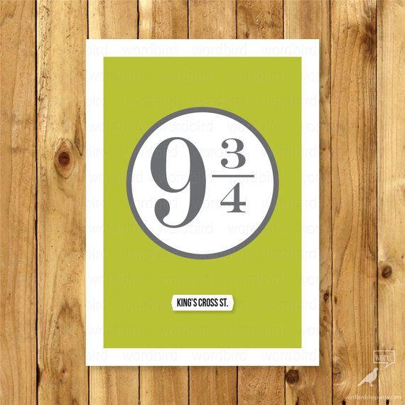 37 best Harry Potter Prints & Posters images on Pinterest   Harry ...