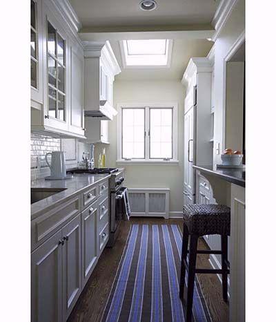 30 best columns images on pinterest kitchen modern open for Galley kitchen designs with breakfast bar
