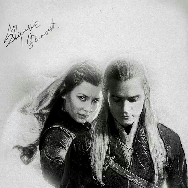lord of the rings legolas and tauriel relationship