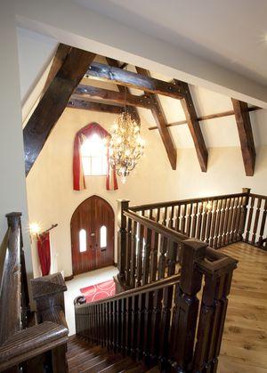 gaffnet-house-wood-work