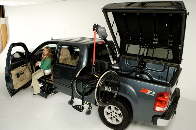 Tractor Wheelchair Lift : Best amazing adapted vehicles images on pinterest