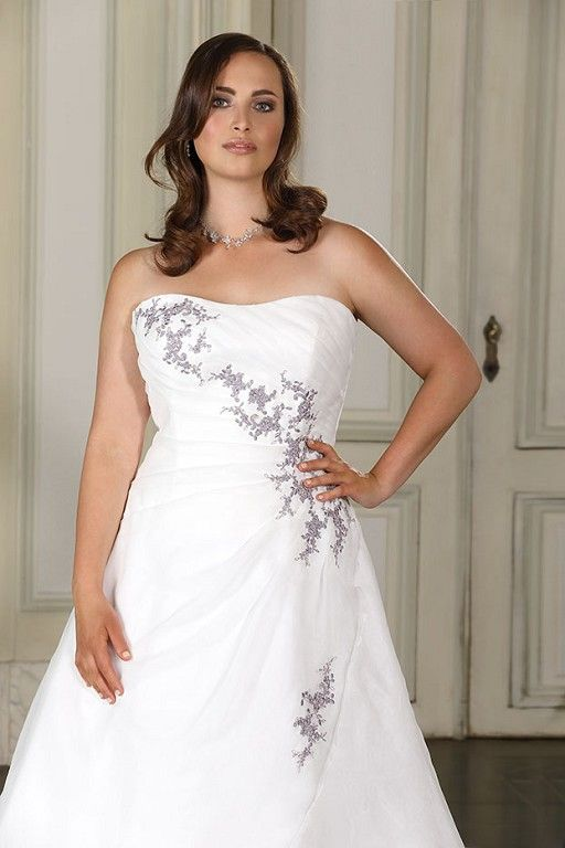 Ladybird ls316085 Plus size bridal wedding dresses and wedding gowns